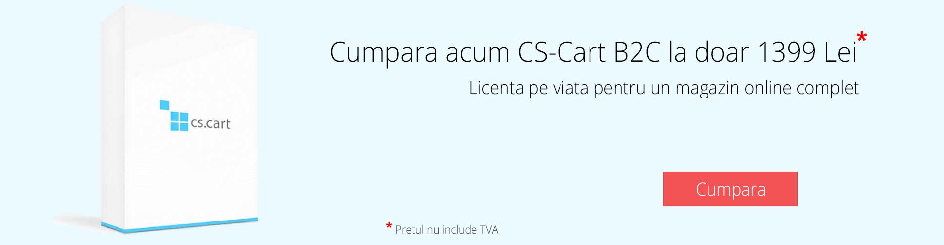 Licenta CS-Cart Software
